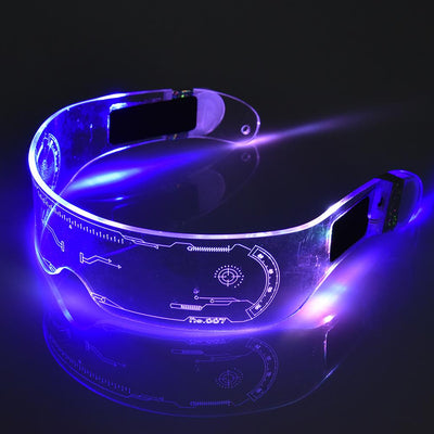 LED Glasses Neon Party Luminous Light - Emporium Digital Store
