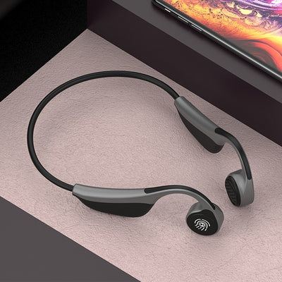 V9 Wireless Bluetooth 5.0 Earphone Outdoor Sport Headset with Microphone Cycling Fitness Running Driving Gym - [emporium digital]