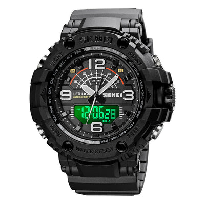 NEW 2020 Elegant Strong Style Analog Digital Watch : skmei watch 1617 - [emporium digital]
