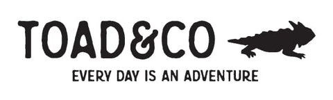 Toad&Co Logo - Everyday is an adventure