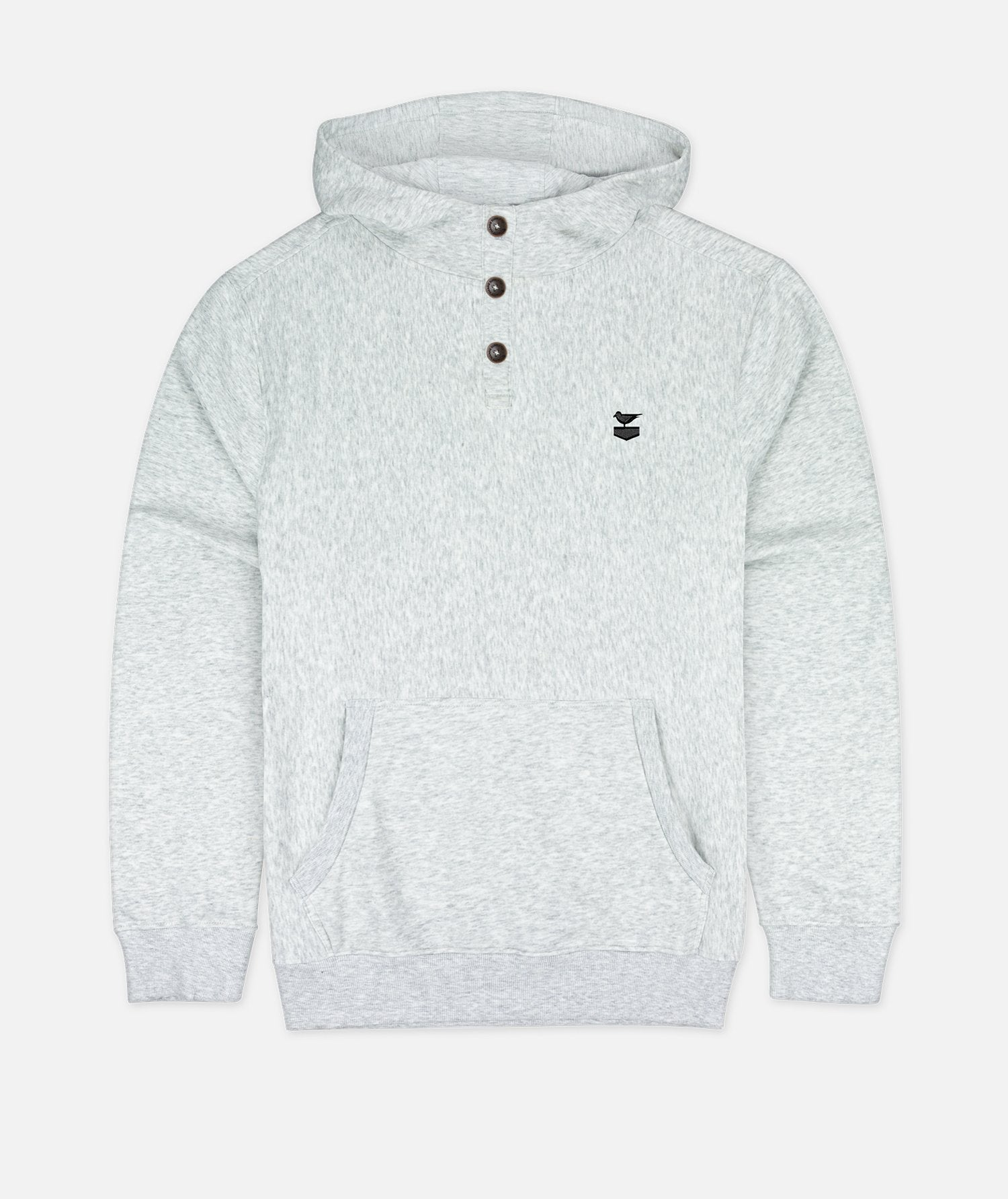 The Trawler Hoodie - Athletic Heather