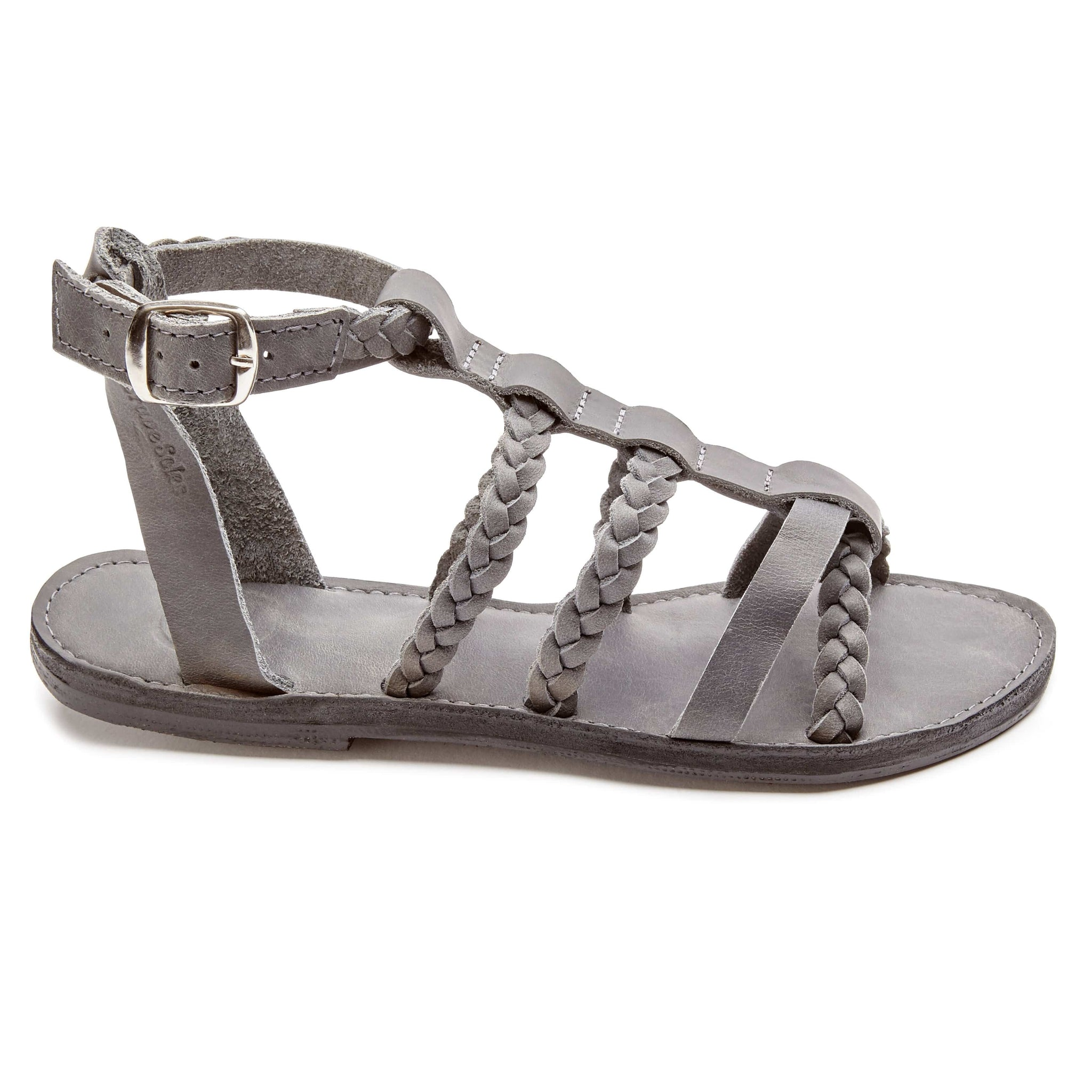 The Kaitlin Leather Gladiator Sandal