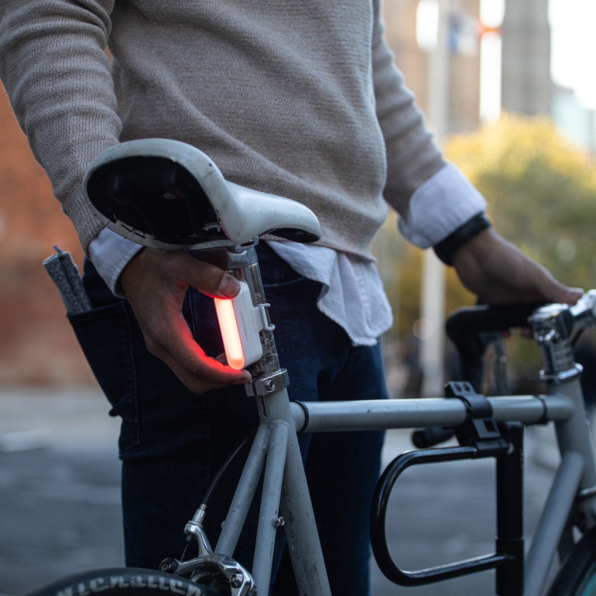 Luci Solar Bike Light Set