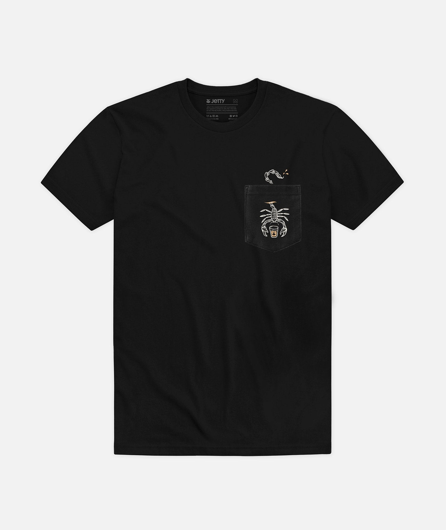 Telson Pocket Tee - Black