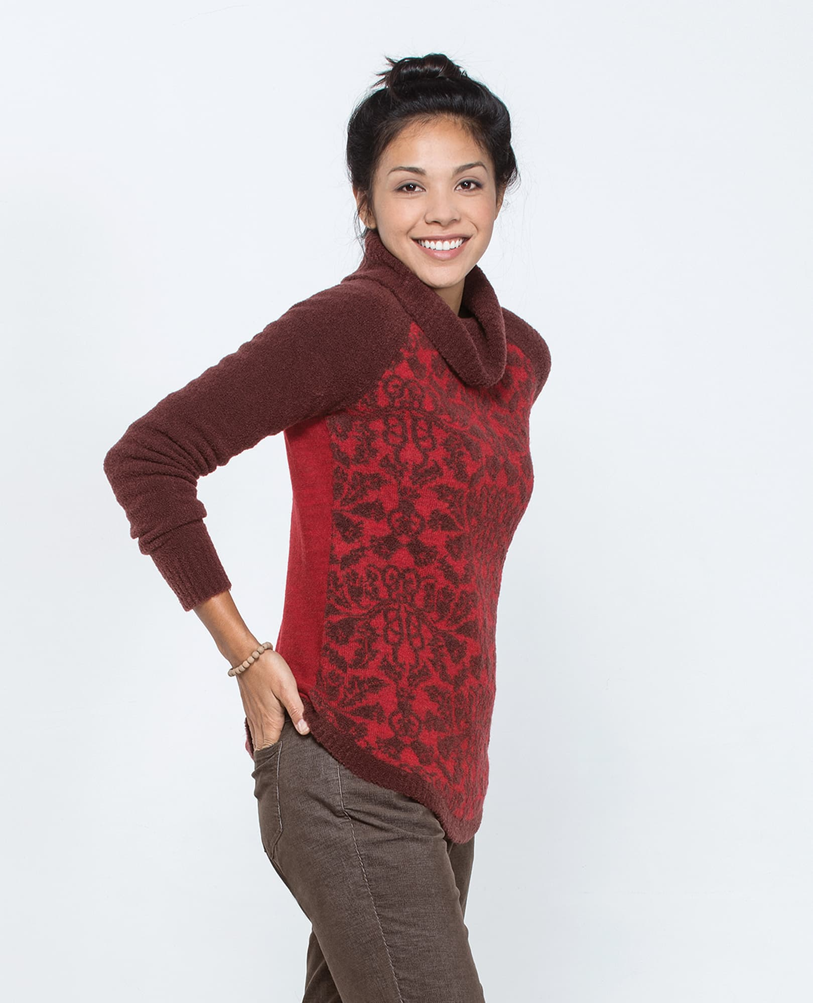 Lucianna T Neck Sweater