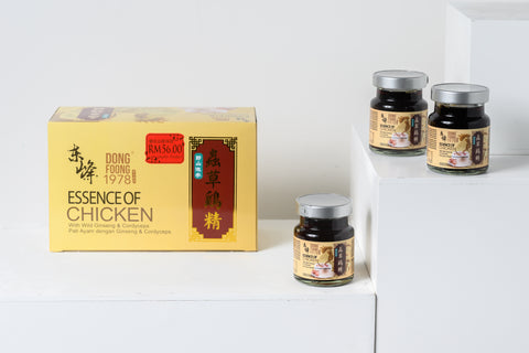 Dong Foong 1978 Essence of Chicken with Wild Ginseng & Cordyceps