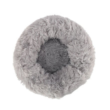 Load image into Gallery viewer, Hot Long Plush Dog Bed Winter Warm Round Sleeping Beds Soild Color Soft Pet Dogs Cat Mat Cushion Dropshipping