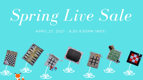 Sew Fun MT Games Spring Live Sale Event