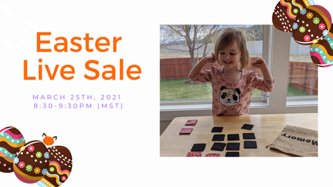 Sew Fun MT Games Easter Live Sale Event