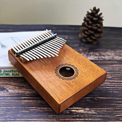 Beautiful Kalimba Premium 17 Key Mahogany Kalimba - Trendvance