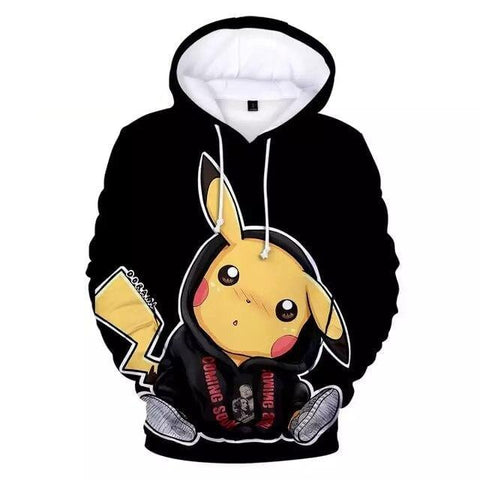Sweat Pikachu Noir