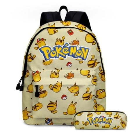 Cartable Pikachu Multiple
