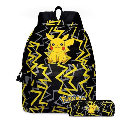 Cartable Pikachu Tonnerre