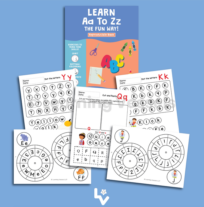 Learn A to Z the Fun Way! (Book only)