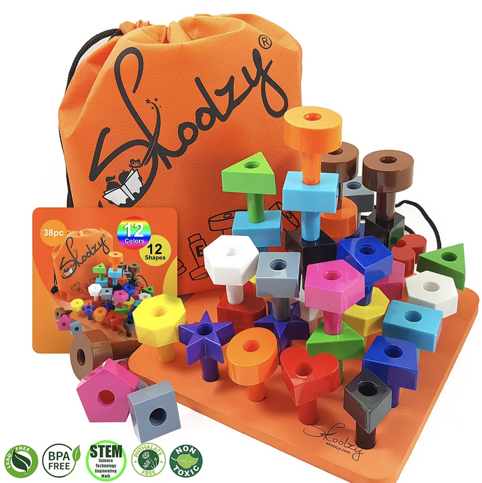 Shapes Pegboard Set