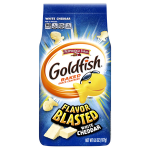 Goldfish Flavour Blasted White Cheddar (6.6 oz)