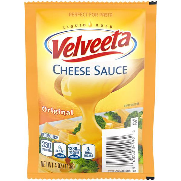 Velveeta Original Cheese Sauce Pouch (4oz)