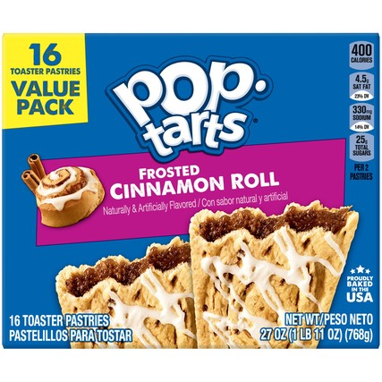 Pop-Tarts Frosted Cinnamon Roll (27oz)