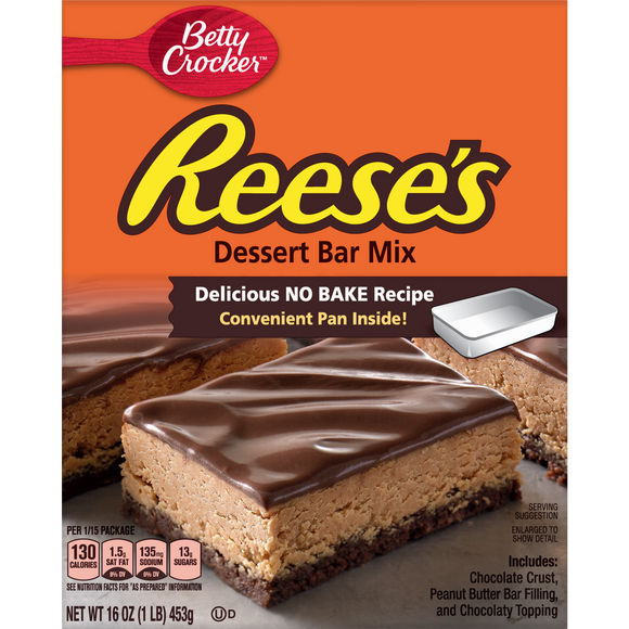 Betty Crocker Reese's Dessert Bar Mix (16oz)