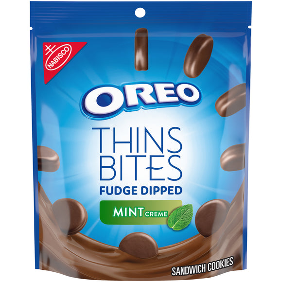 Oreo Thins Bites Fudge Dipped Mint (6oz)