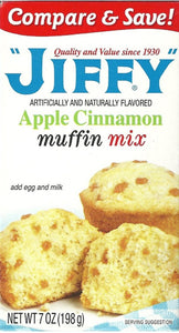 Jiffy Apple Cinnamon Muffin Mix (7oz)