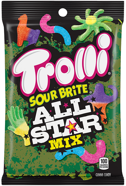 Trolli Sour Brite All Star Mix (3.8oz)