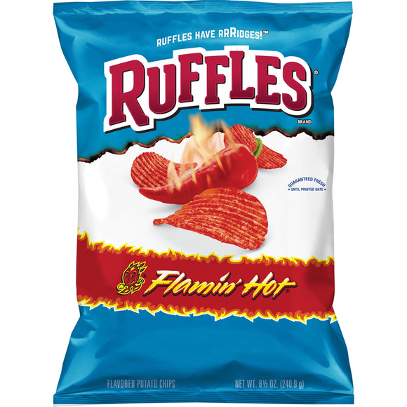 Ruffles Flamin' Hot Potato Chips (8.5oz)