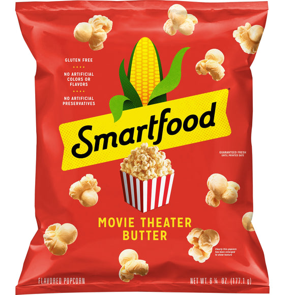 Smartfood Movie Theater Butter Flavored Popcorn (6.25 oz)