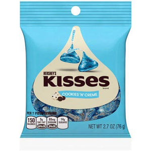 Hershey's Kisses Cookies 'n' Crème Candy Bag (2.7oz)