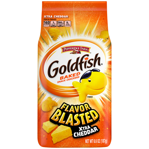Goldfish Flavour Blasted Xtra Cheddar Crackers (6.6oz)