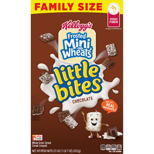 Kellogg's Frosted Mini-Wheats Little Bites Chocolate (23oz)