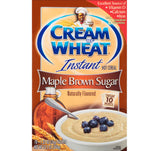 Cream of Wheat Maple Brown Sugar Hot Cereal 10-(1.23oz) Packets