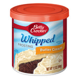 Betty Crocker Whipped Butter Cream Frosting (12oz)