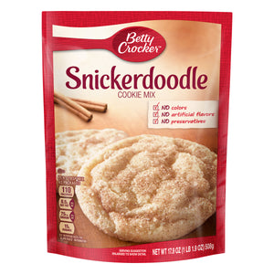 Betty Crocker Snickerdoodle Cookie Mix (17.9oz)