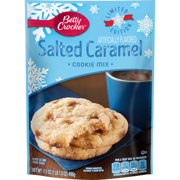 Betty Crocker Salted Caramel Cookie Mix (17.5oz)