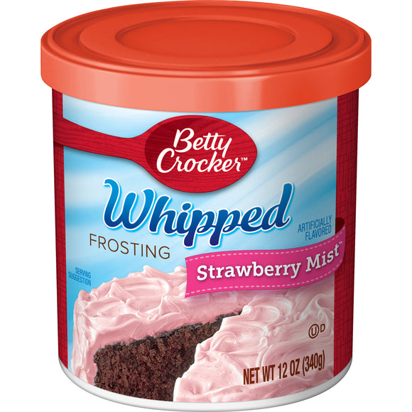 Betty Crocker Whipped Strawberry Mist Frosting (12oz)