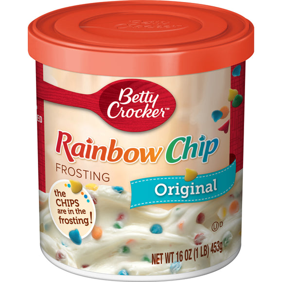 Betty Crocker Original Rainbow Chip Frosting (16oz)
