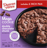 Duncan Hines Mega Cookie Double Chocolate Chunk Pan Cookie Mix (8.4oz)