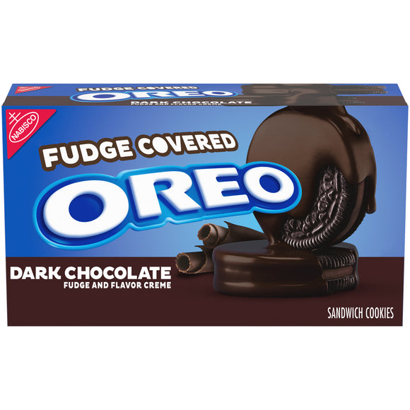 Oreo Dark Chocolate Fudge Covered (9.9oz)