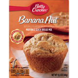 Betty Crocker Banana Nut Muffin & Quick Bread Mix (12.3oz)