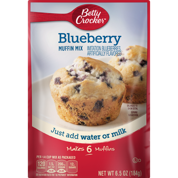 Betty Crocker Blueberry Muffin Mix (6.5oz)