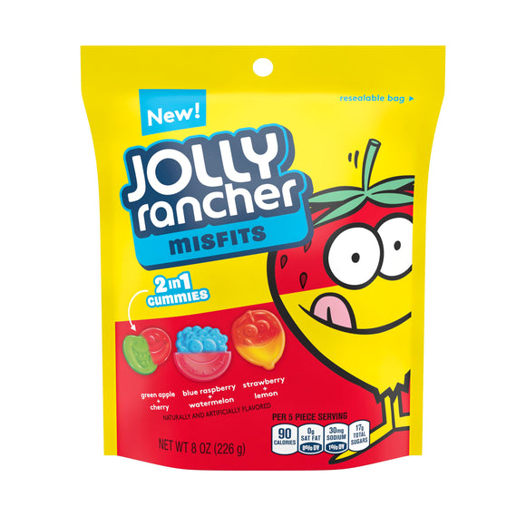 Jolly Rancher Misfits Gummy Candy (8oz)