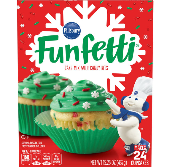 Pillsbury Funfetti Holiday Cake (15.25oz)