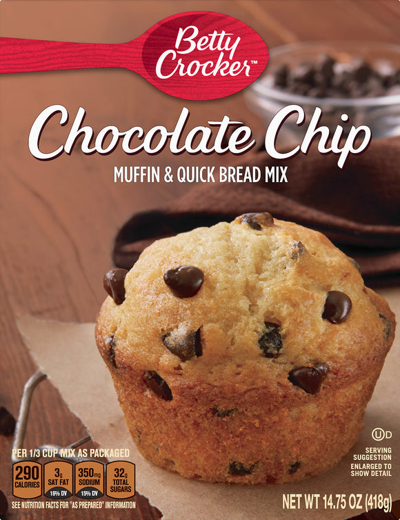 Betty Crocker Chocolate Chip Mix (14.75oz)