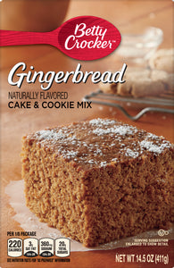 Betty Crocker Gingerbread Mix (14.5oz)