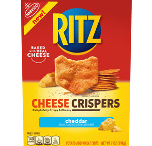 Ritz Cheese Crispers Cheddar Chips (7oz)