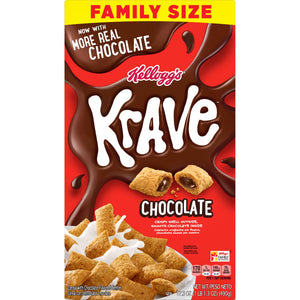Kellogg's Krave Chocolate Cereal (17.3oz)