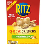 Ritz Cheese Crispers Four Cheese and Herb Chips (7oz)