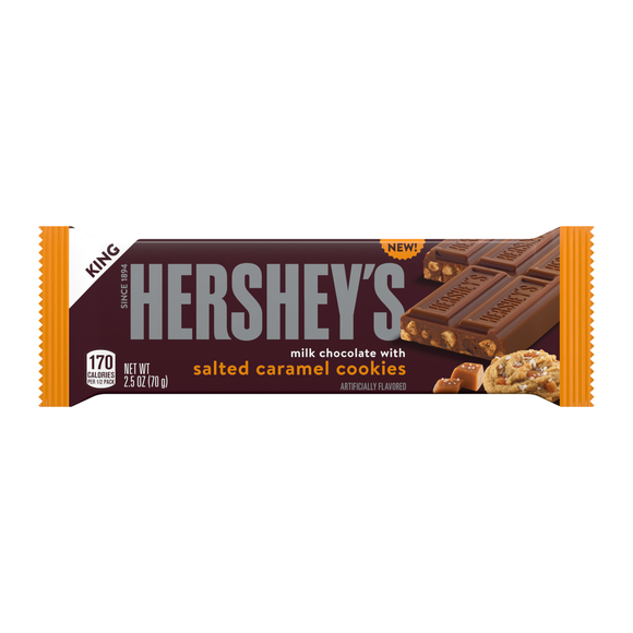 Hershey's Milk Chocolate with Salted Caramel Cookies (2.5oz)