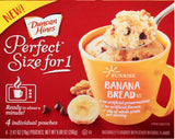 Duncan Hines Sunrise Banana Bread Mix 4-(2.47oz)